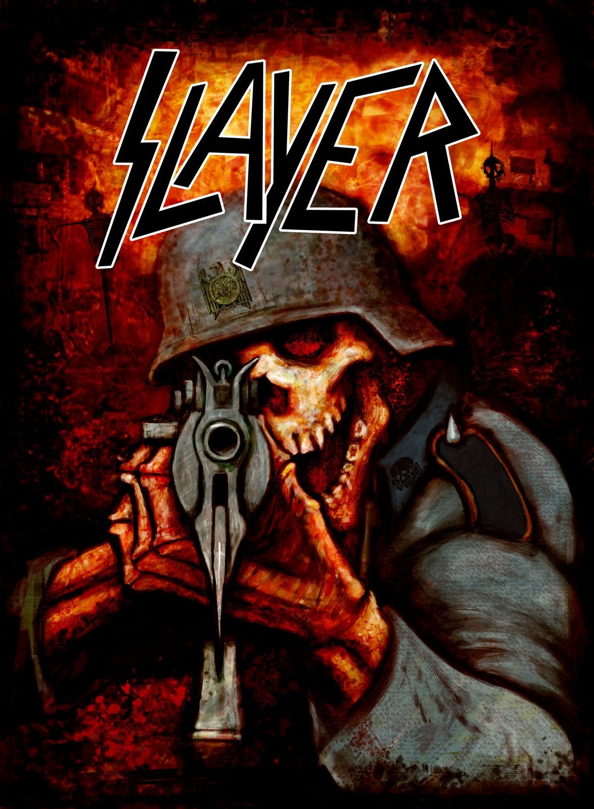 73 Metal Band Wallpapers On Wallpapersafari