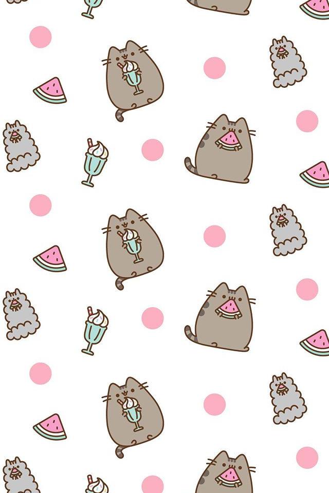 Pusheen wallpaper With images Pusheen cat Pusheen Pusheen cute 640x960