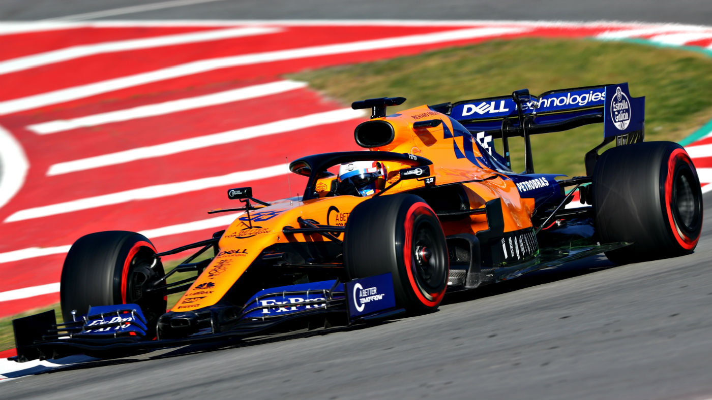 F1 McLaren impress at testing but dont expect pole at the 1400x788