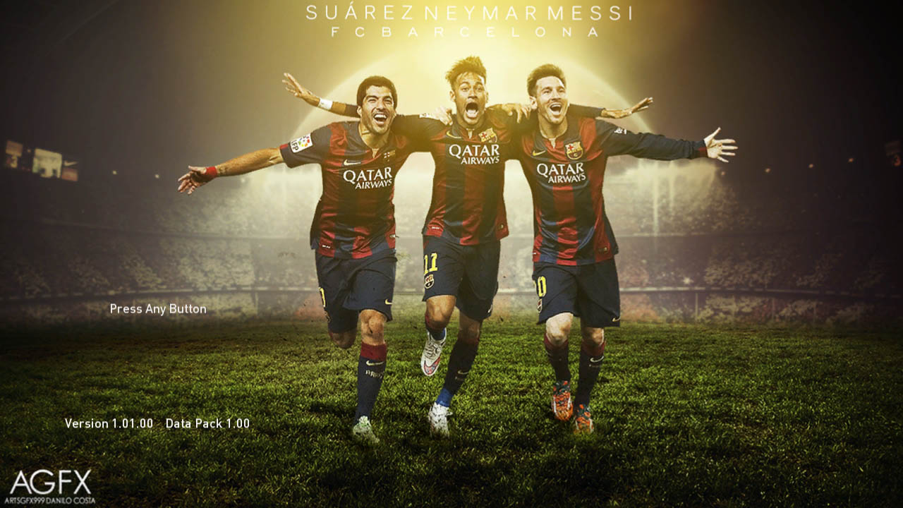 Messi Neymar Ronaldo Bale vs Suarez James 1280x720