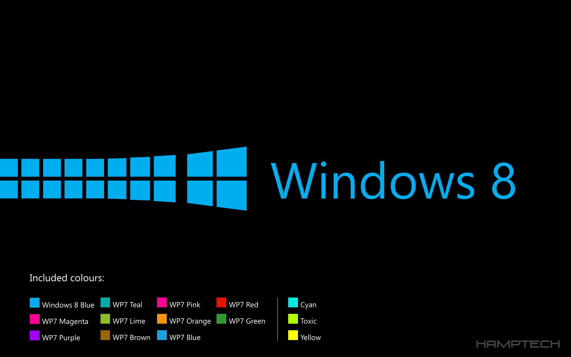 Windows 8 Lockscreen Wallpaperpack BlackEdition By Hamptech On
