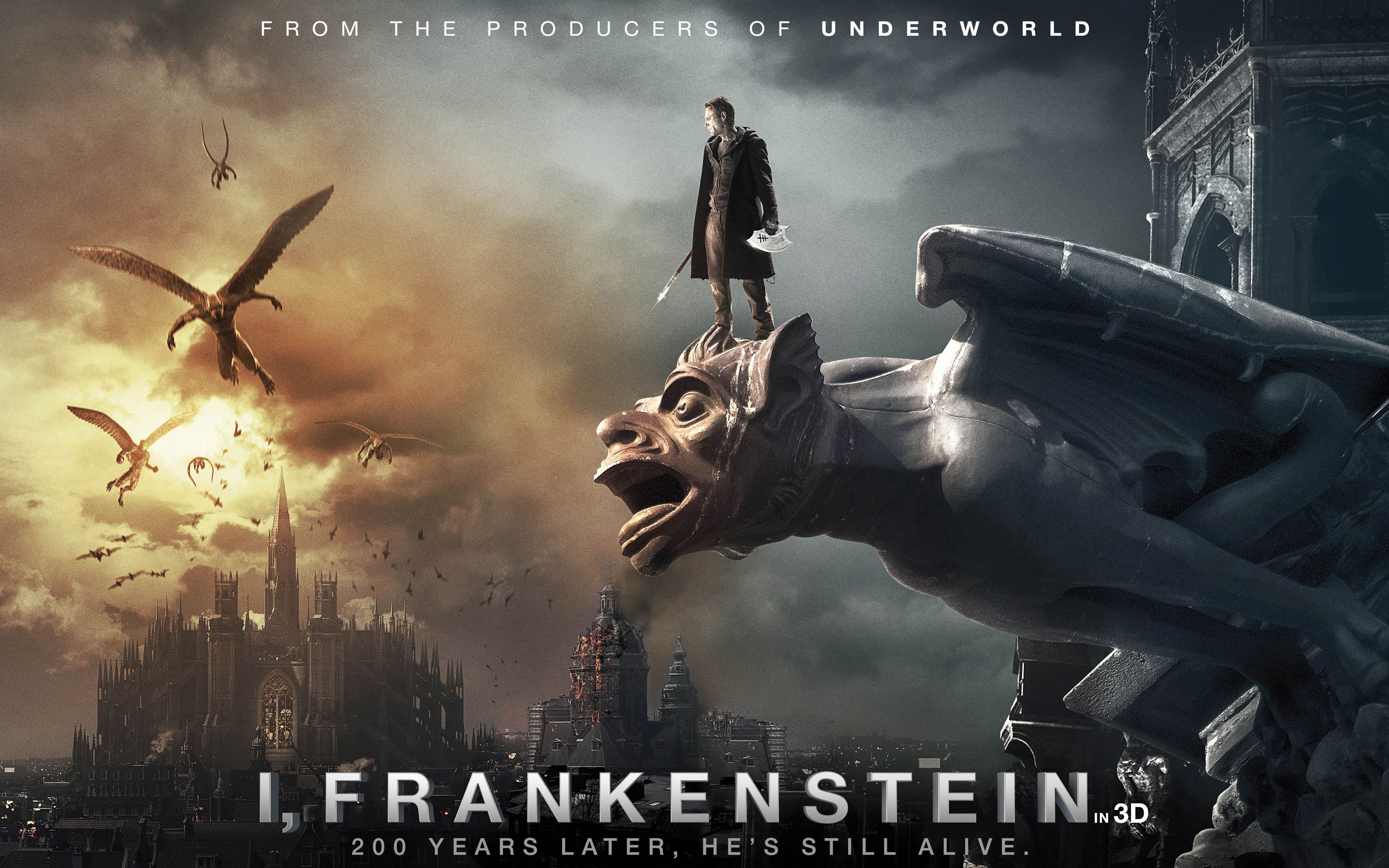 Frankenstein 2014 Movie Wallpapers HD Wallpapers 2880x1800