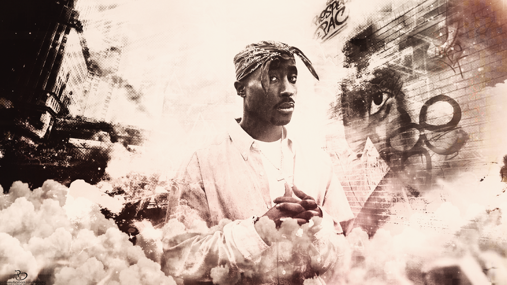 2pac Wallpaper by berkayldrm 1024x576