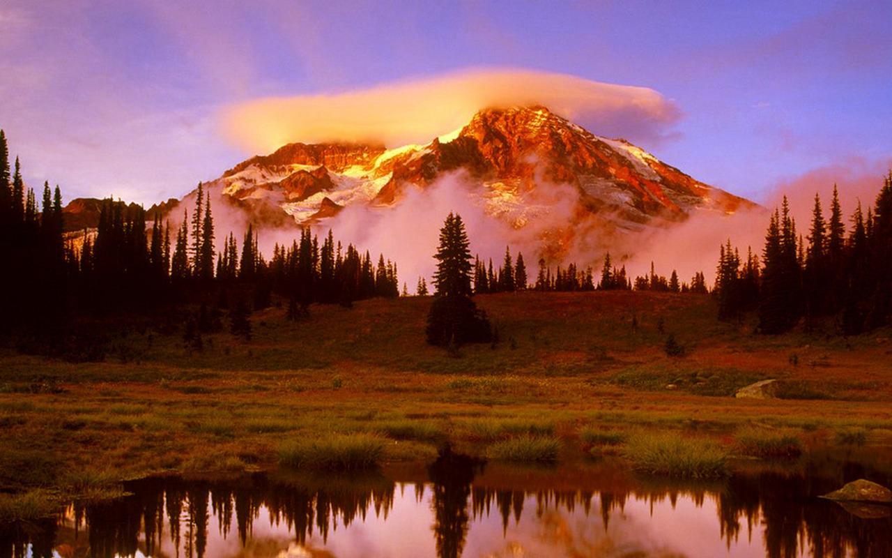 Mount Rainier Pictures   Mount Rainier National Park World Travel 1280x800