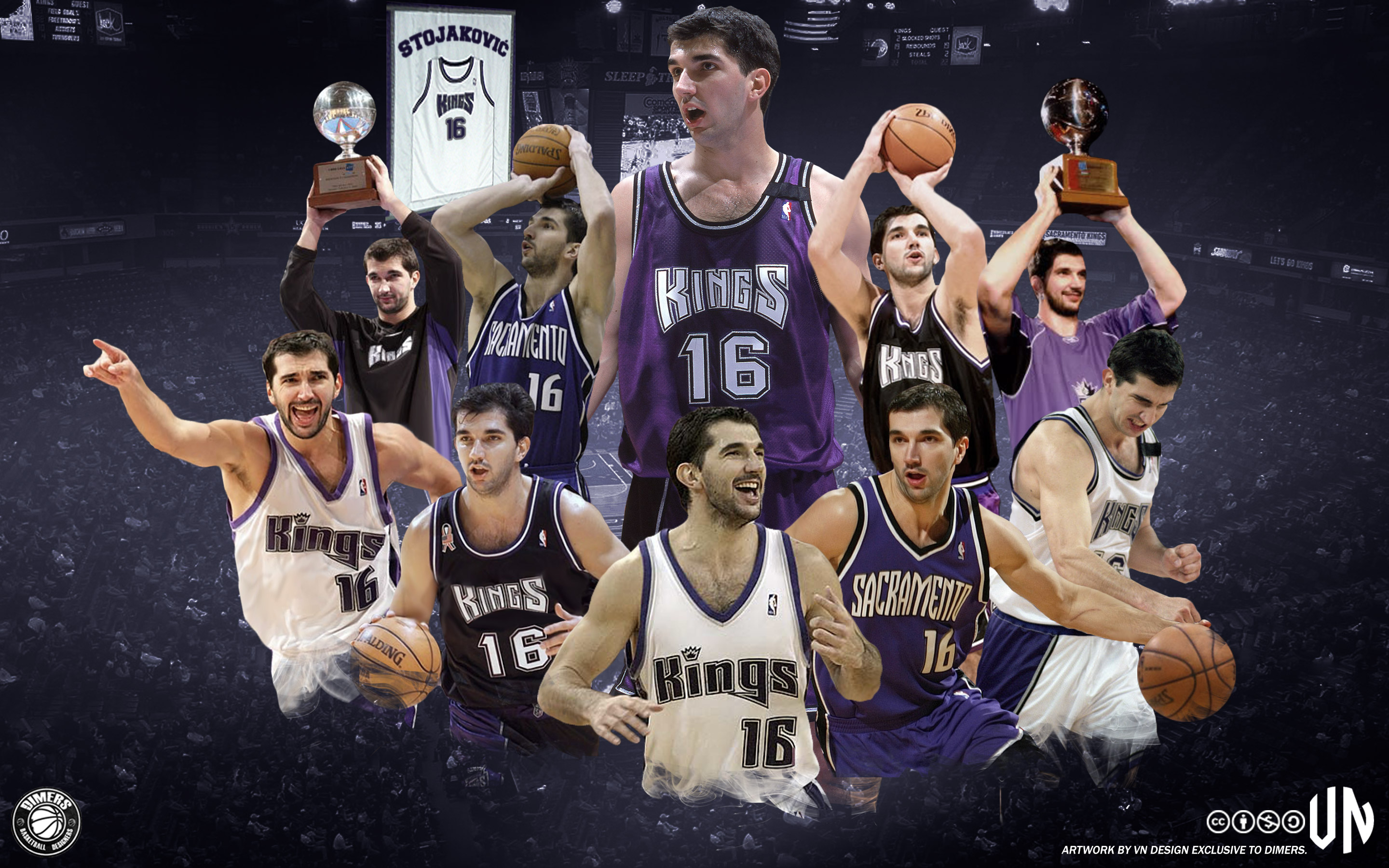 Peja Stojakovic Kings Wallpaper Basketball Wallpapers at 2880x1800