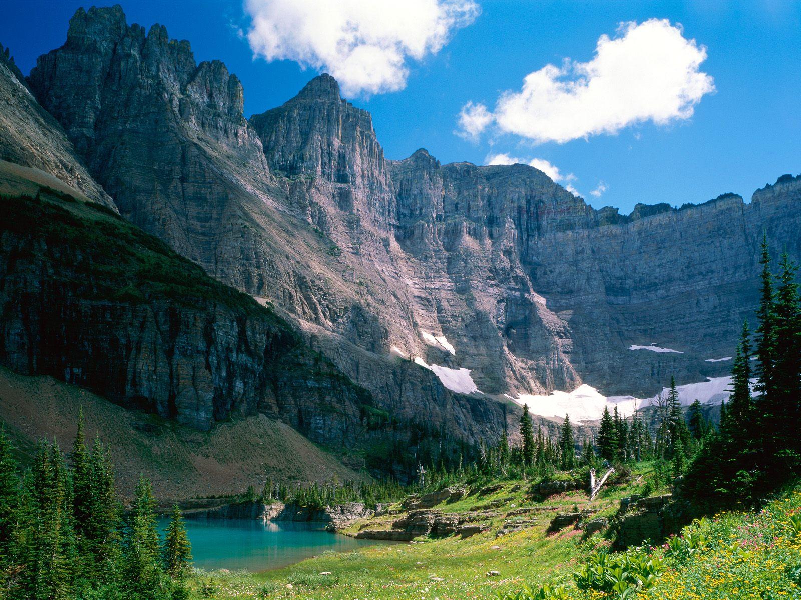 Wallpapers for Desktop Near Iceberg Lake Montana Wallpapers download 1600x1200