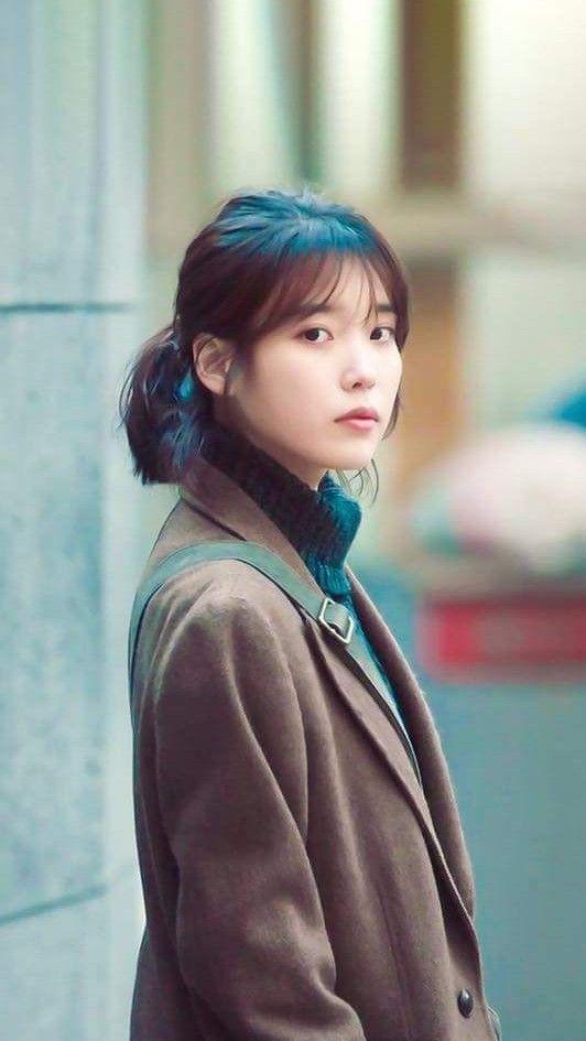 IU wallpaper mymister Iu short hair Iu hair Korean actresses 532x945