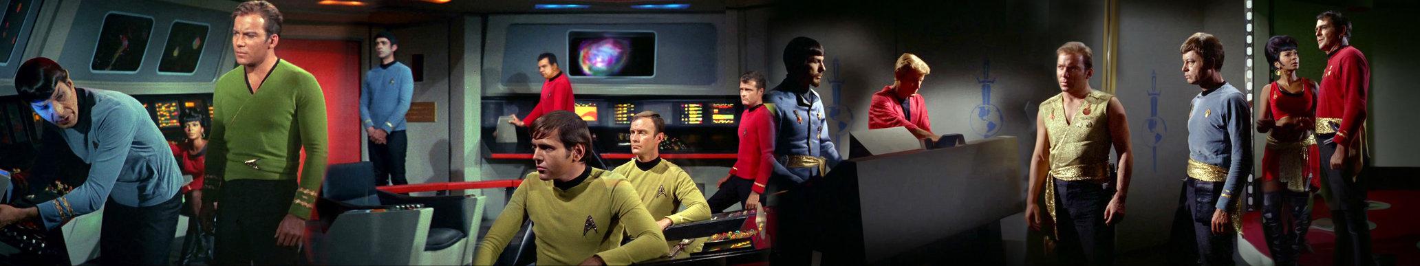 Star Trek desktop background wallpaper 5760x1080 by Mecandes on 2064x387