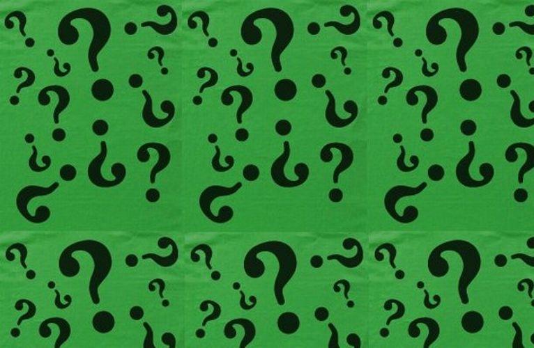 the joker question mark