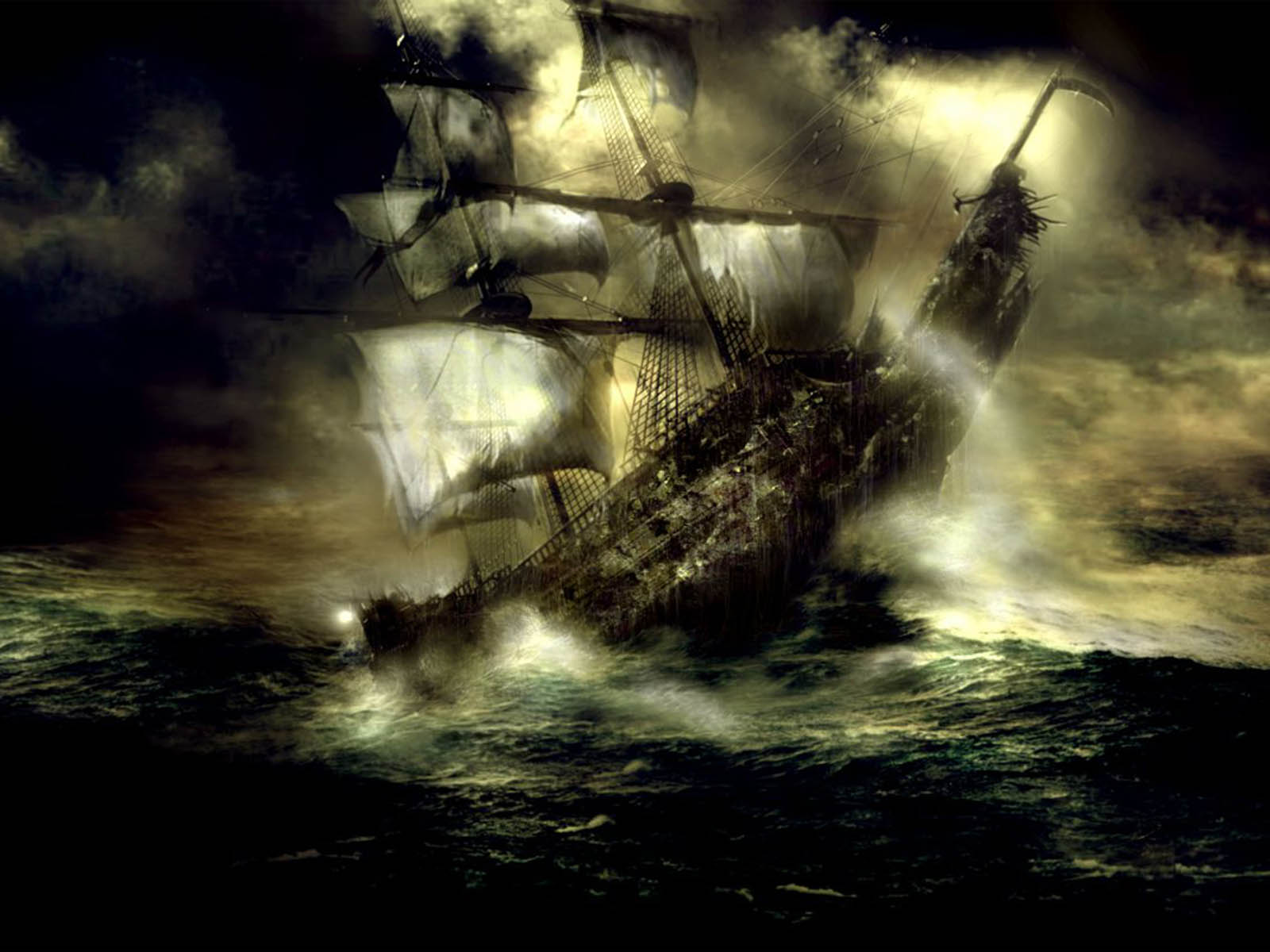 Ghost Ship Wallpapers Ghost Ship Desktop Wallpapers Ghost Ship 1600x1200