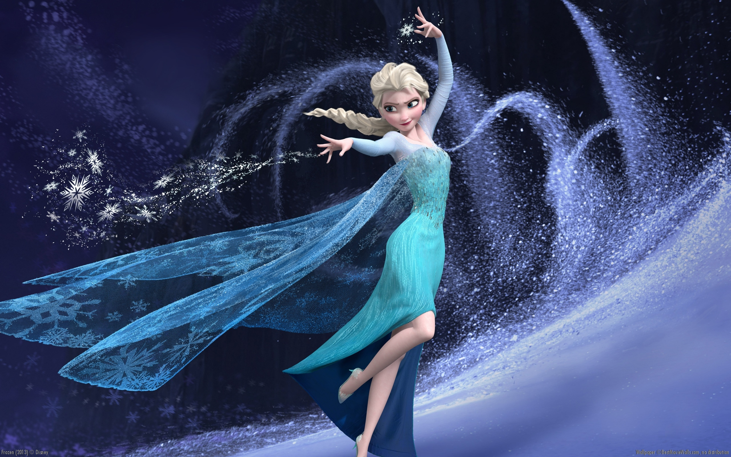 Elsa Wallpaper   Frozen Wallpaper 36065977 2560x1600