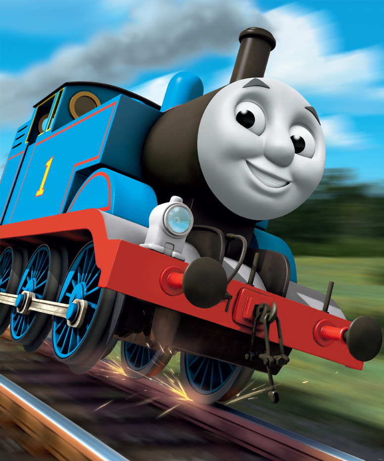 Thomas and Friends Mural 776x932