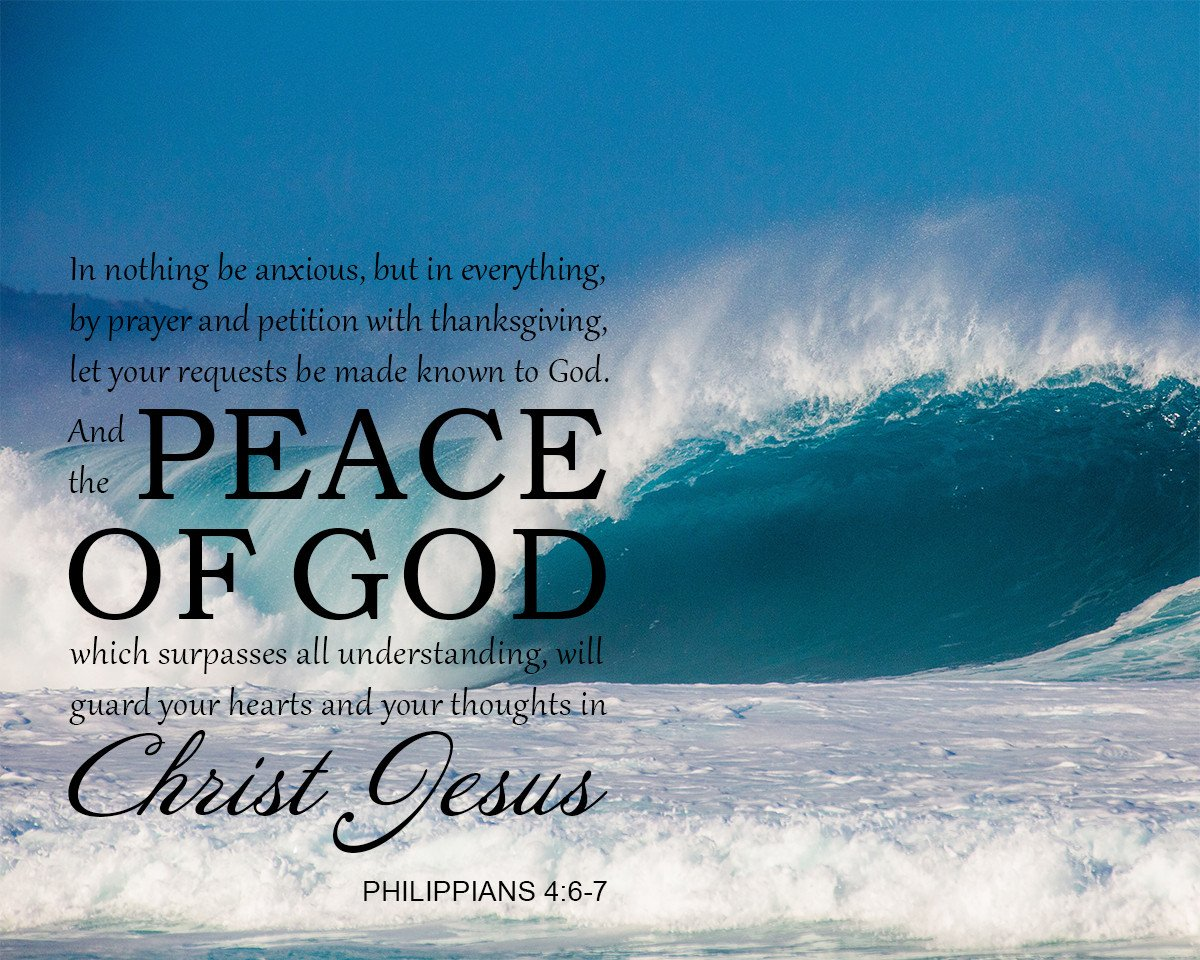 Philippians 46 7 Peace of God   Bible Verse Art Downloads 1200x960
