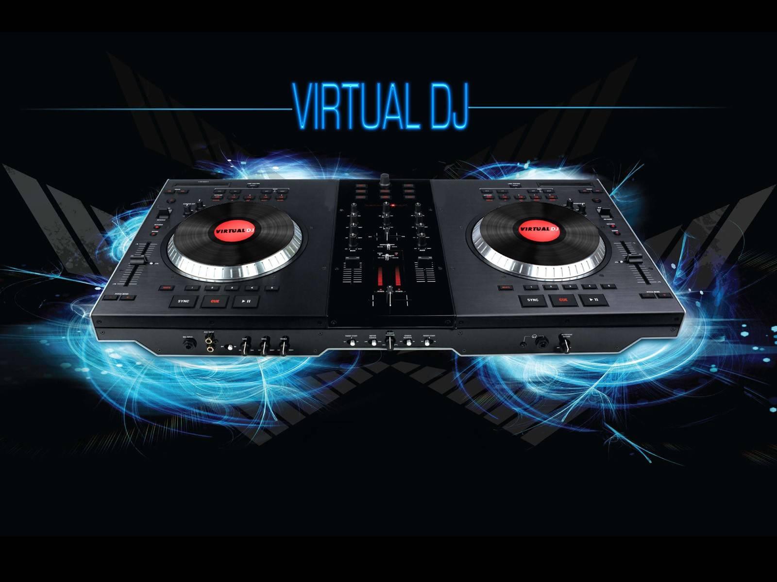 Music Program Virtual DJ Virtual Dj Wa   Club Music Wallpaper 1600x1200