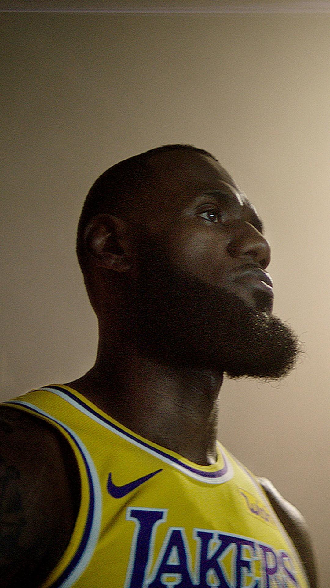 LeBron James LA Lakers iPhone 7 Plus Wallpaper 2020 Basketball 1080x1920