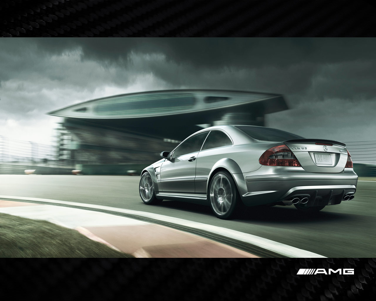 AMG Black Wallpapers Powerful CLK63 AMG Black Myspace Backgrounds 1280x1024