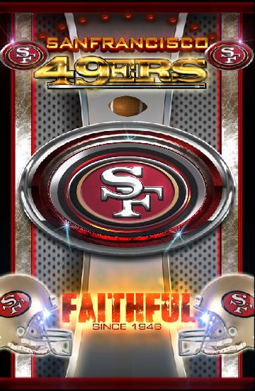 SF 49ers Live Wallpaper HD   screenshot 360x552