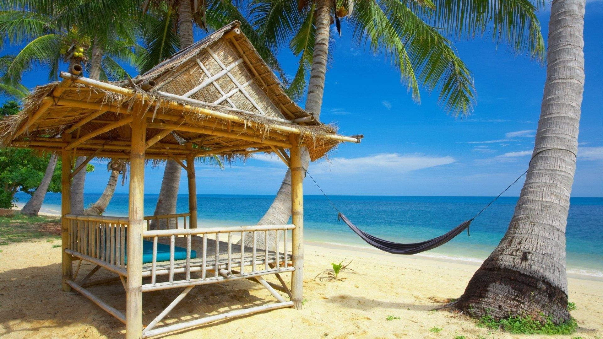 Hd Tropical Island Beach Paradise Wallpapers And Backgrounds: Free Beach Wallpapers And Screensavers