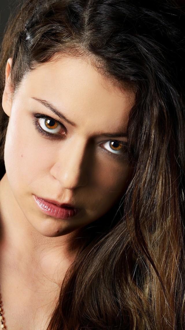 Wallpaper Tatiana Maslany portrait 4k Celebrities 15457 640x1138