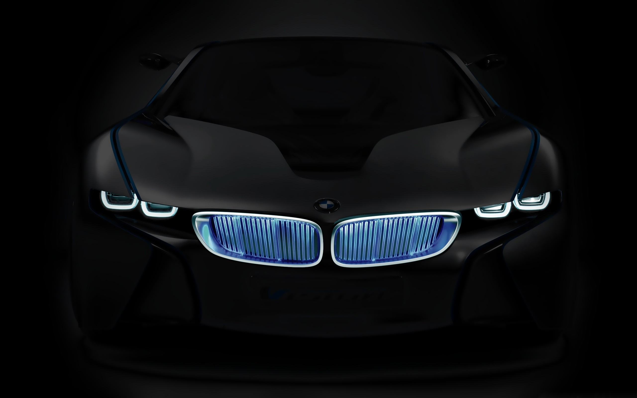 Neon Grill BMW Wallpapers Neon Grill BMW Myspace Backgrounds Neon 2560x1600