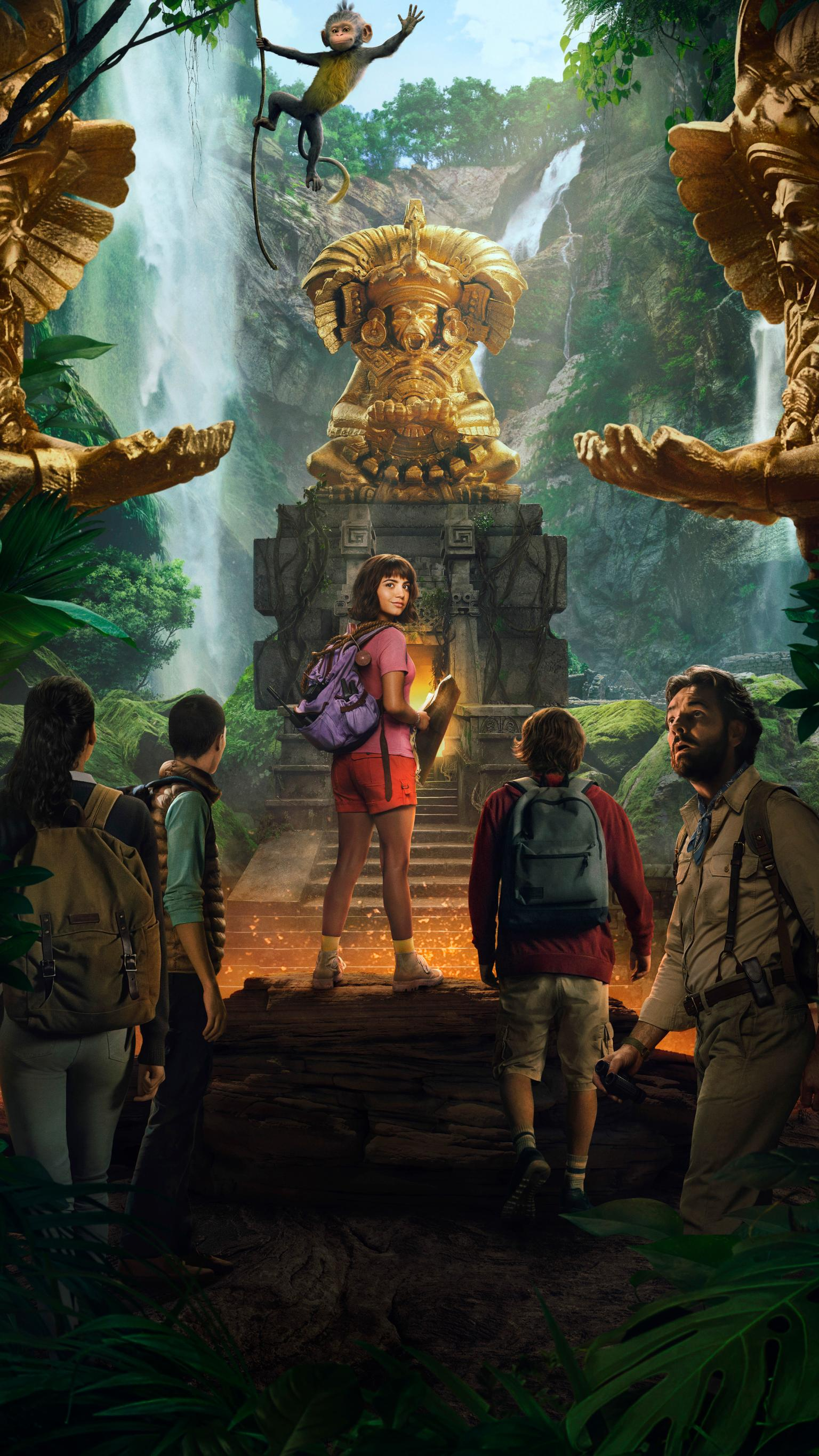 Dora and the Lost City of Gold 2019 Phone Wallpaper Moviemania 1536x2732