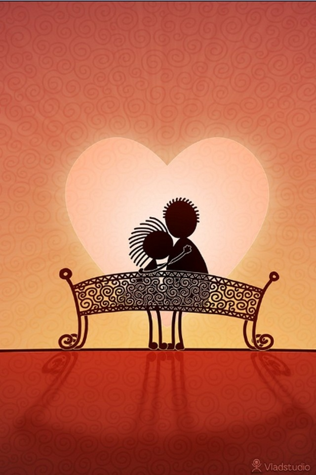 cute cartoon Love Wallpaper For Iphone : couples iPhone Wallpapers - WallpaperSafari