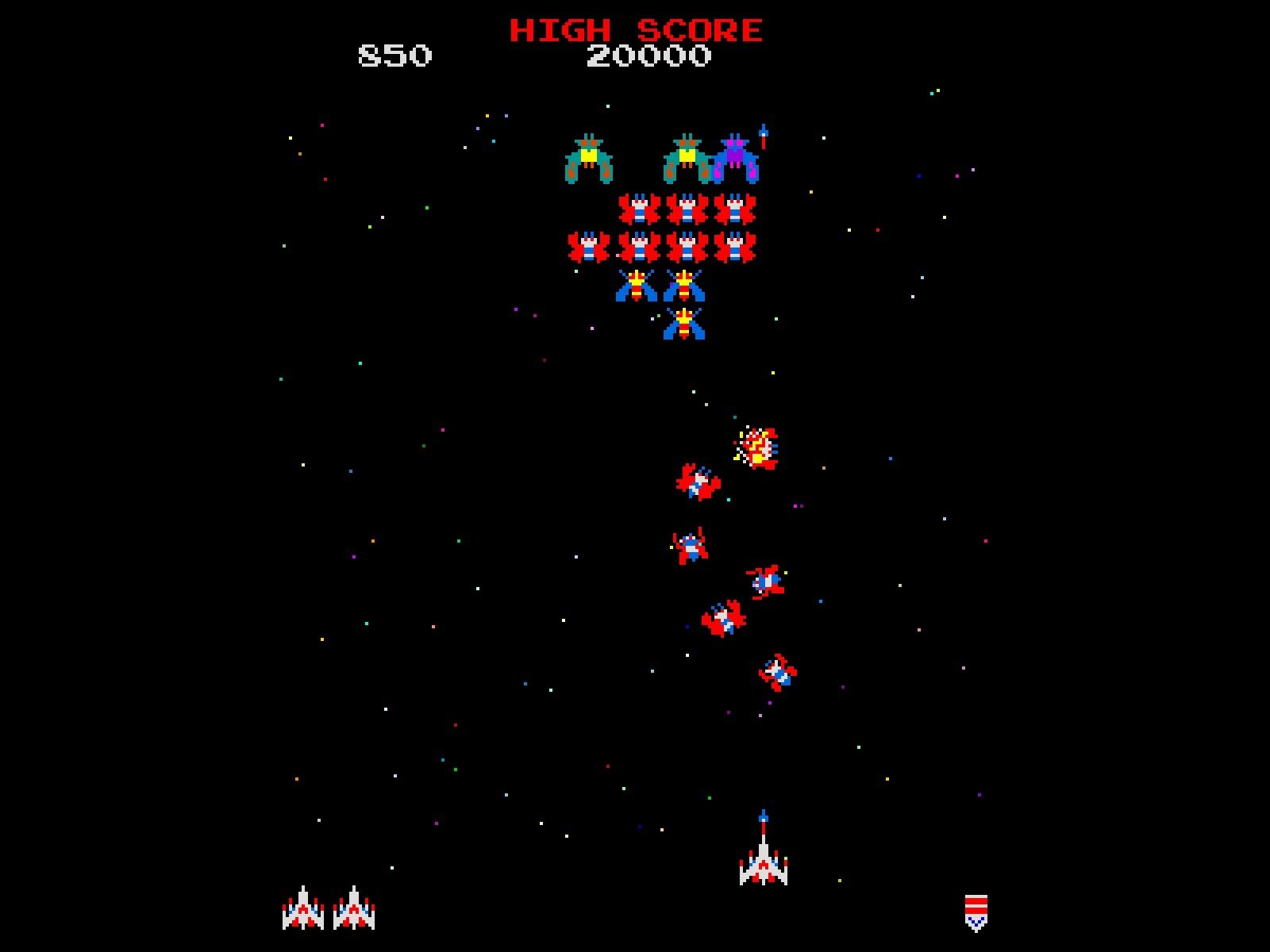 Galaga HD Wallpapers and Background Images   stmednet 1600x1200