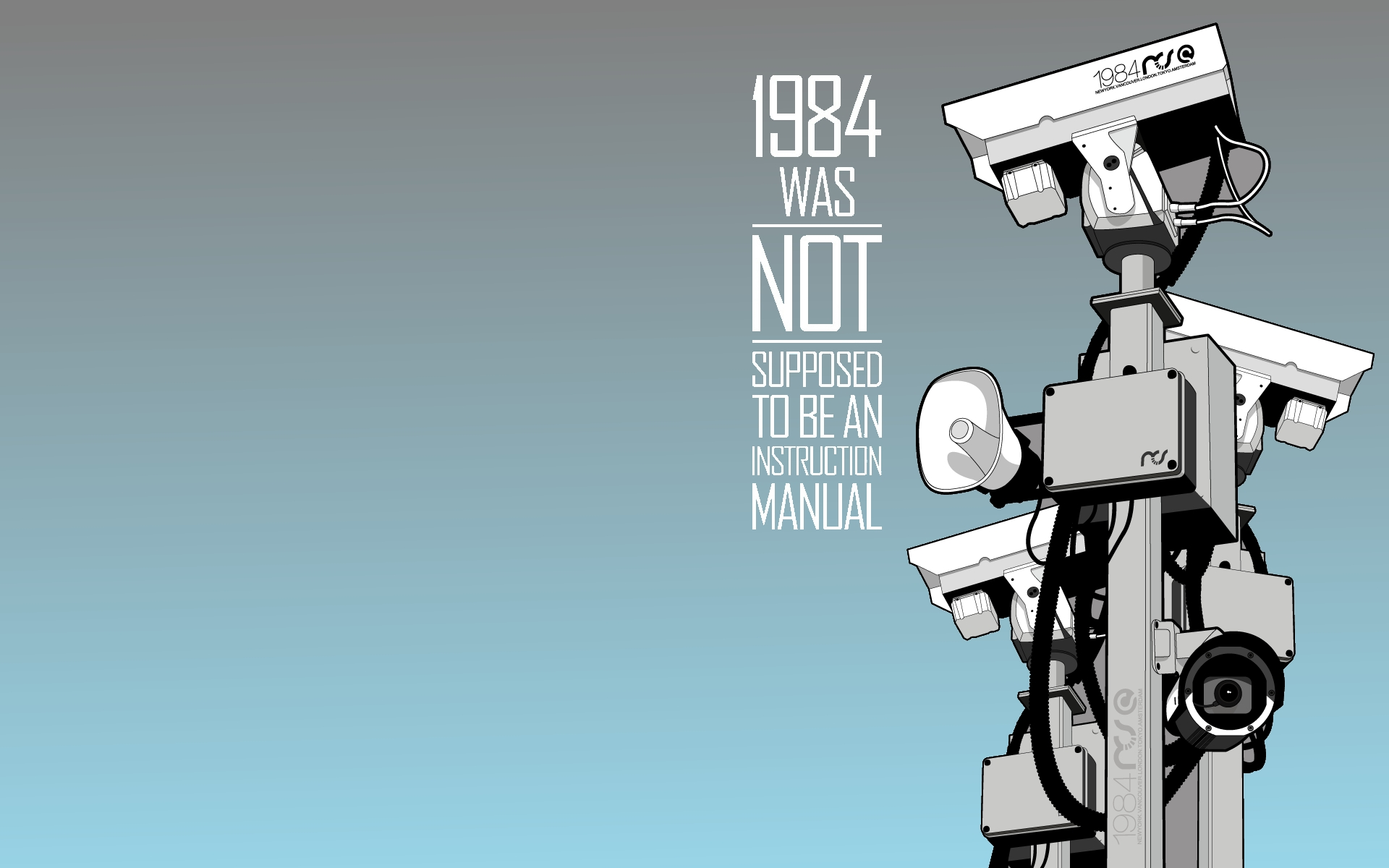 1984 Cctv Wallpapers HD Desktop and Mobile Backgrounds 1920x1200