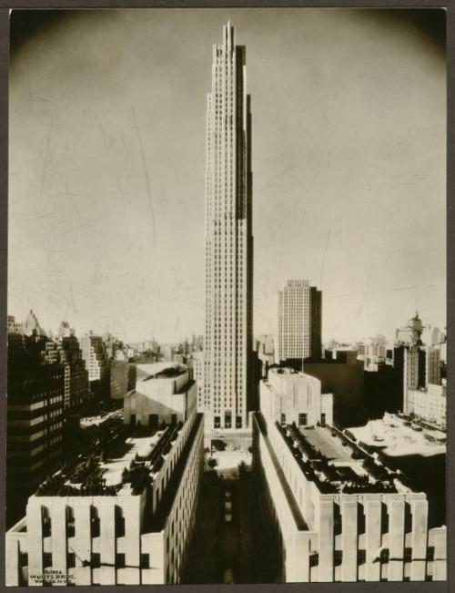 30 Rockefeller Center Plaza GE Building RCA Building NYC New 500x651