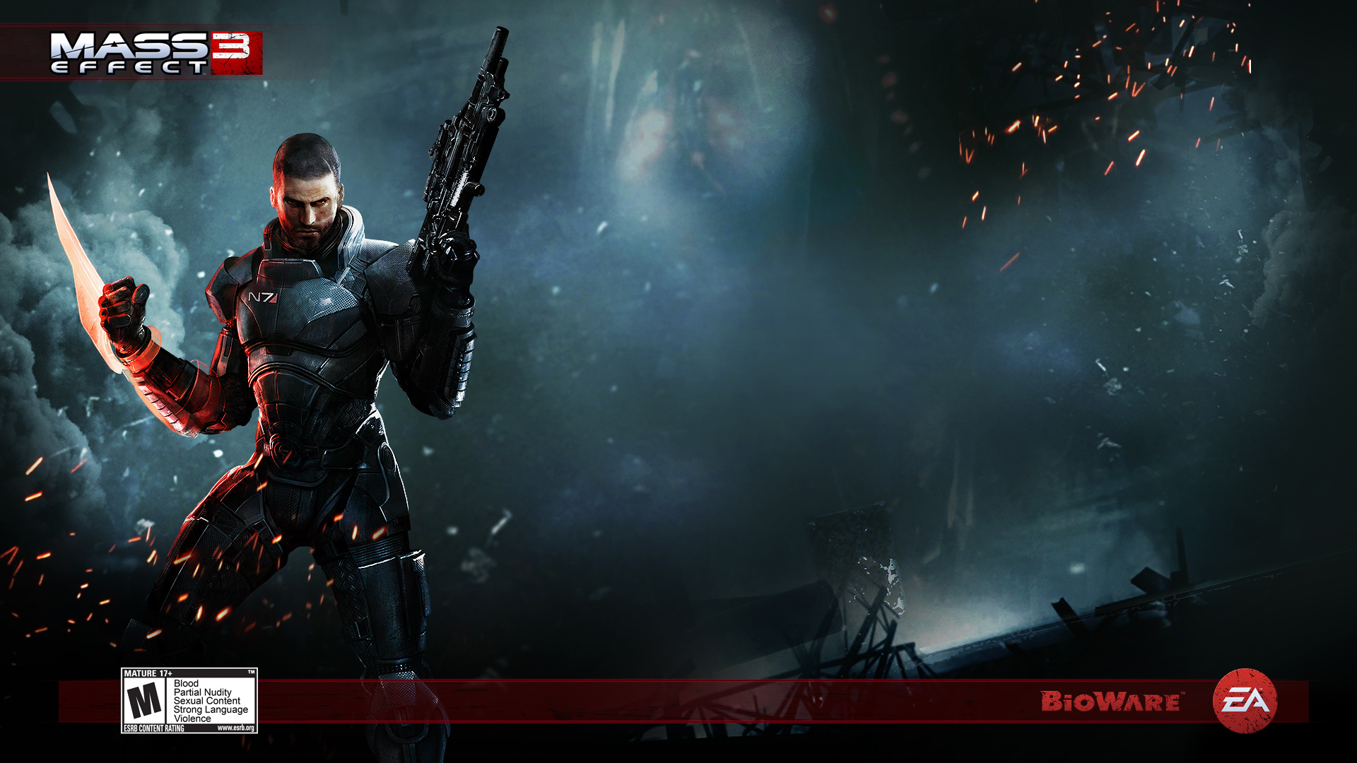 Action Game Mass Effect 3 Wallpapers HD Wallpapers 1920x1080