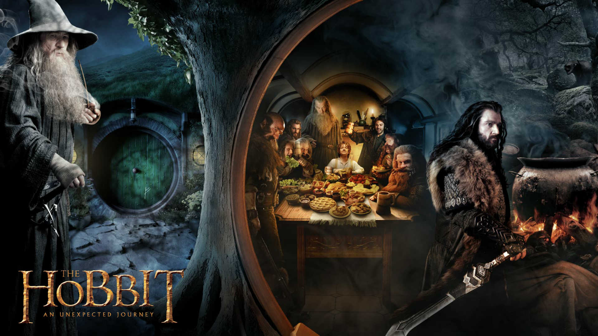 2012 The Hobbit Wallpapers HD Wallpapers 1920x1080