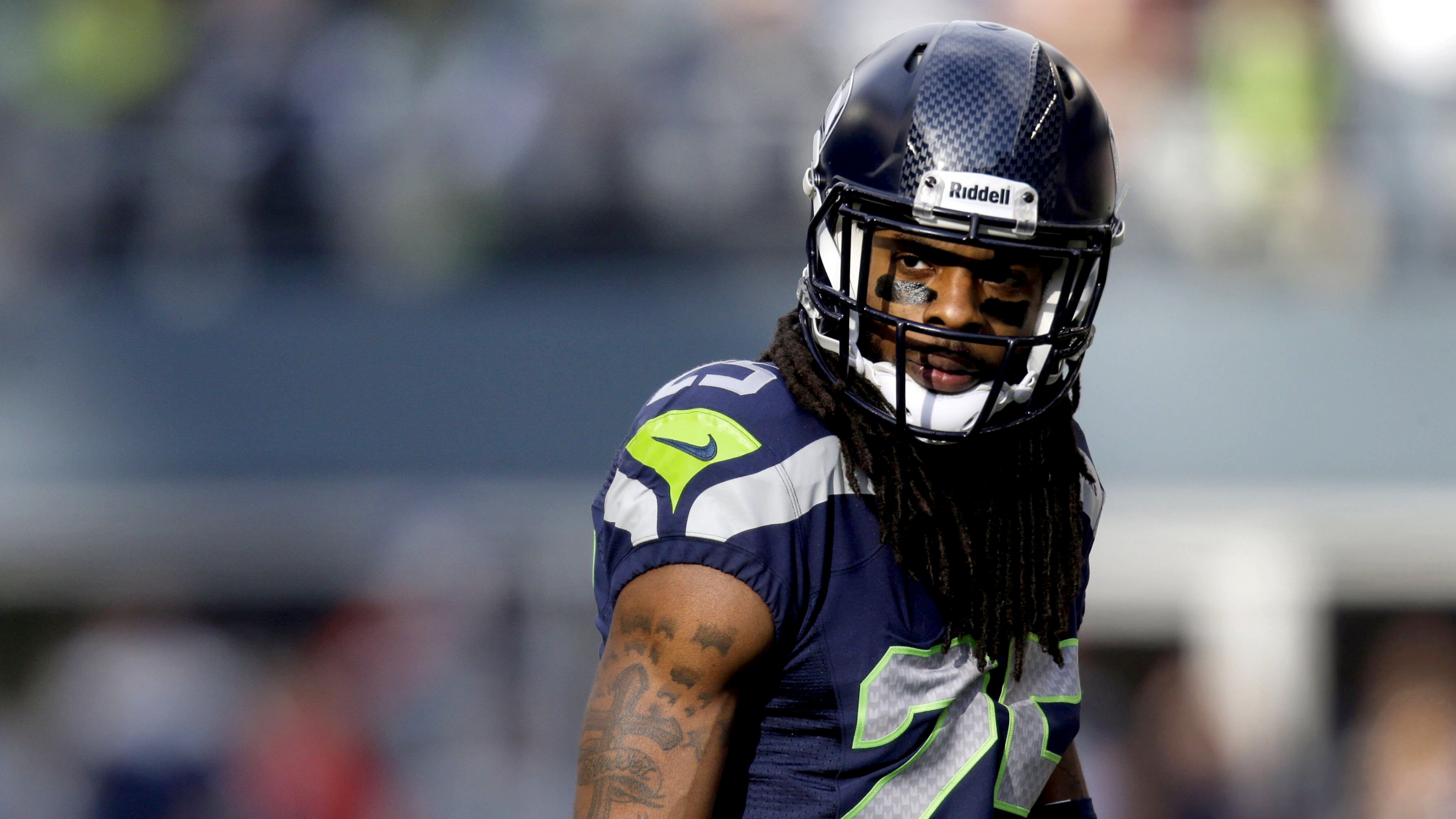 Richard sherman Wallpaper seattle seahawks marshawn lynch 4K Ultra 3840x2160