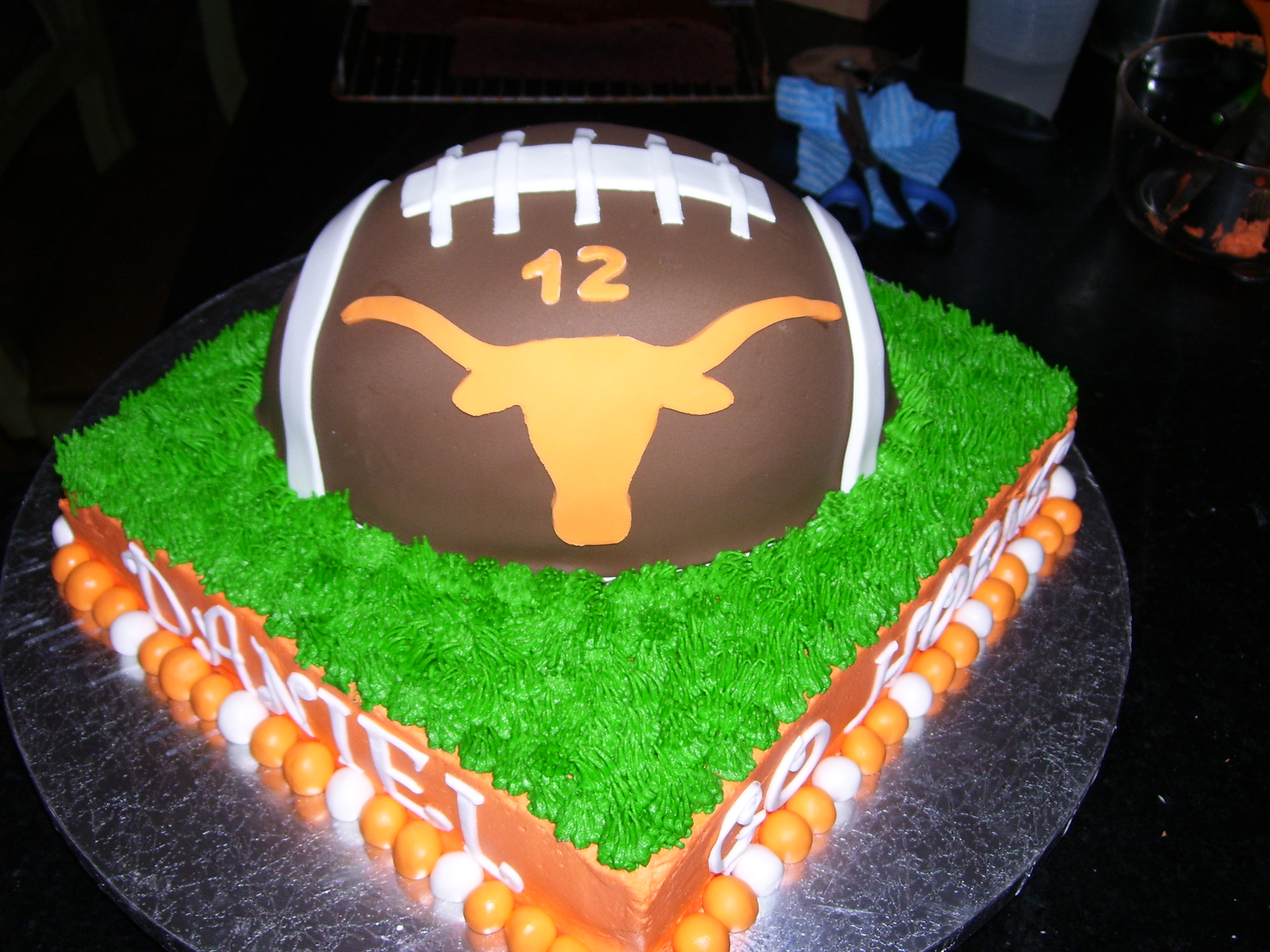 texas longhorn football birthday cake nfl picture texas longhorn 2576x1932