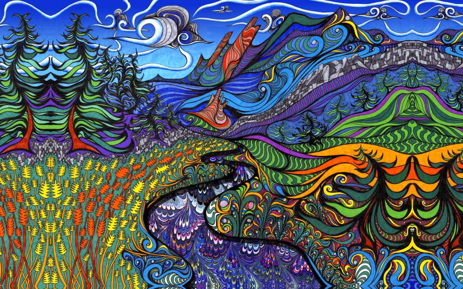Psychedelic Fine Art Wallpaper Cartoon Wallpapers 1600x1000