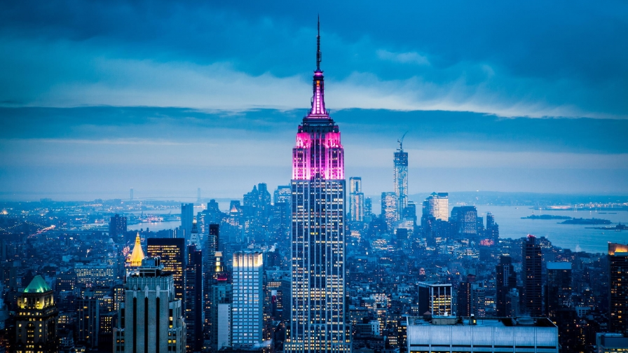 Empire State Building New York City   Wallpaper   HD Wallpapers 896x504