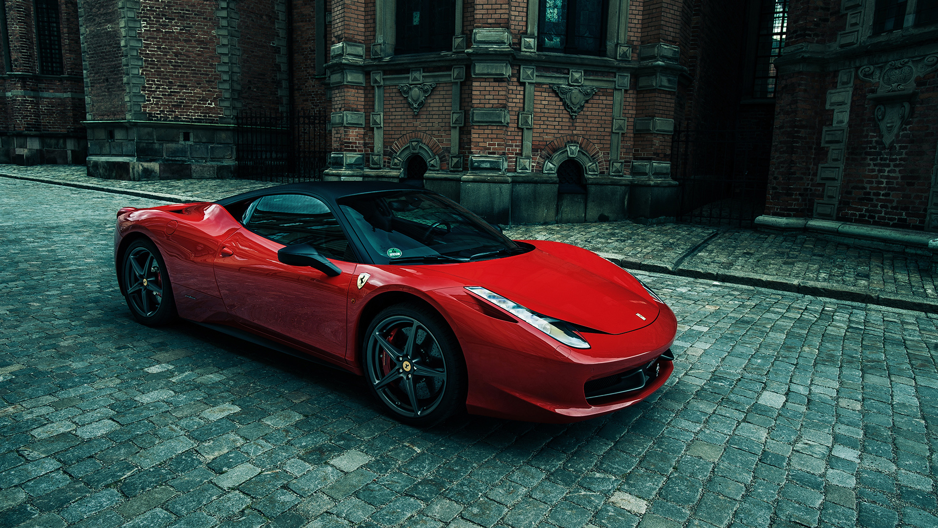 Sporty Ferrari 458 Italia Wallpaper HD Car Wallpapers 1920x1080