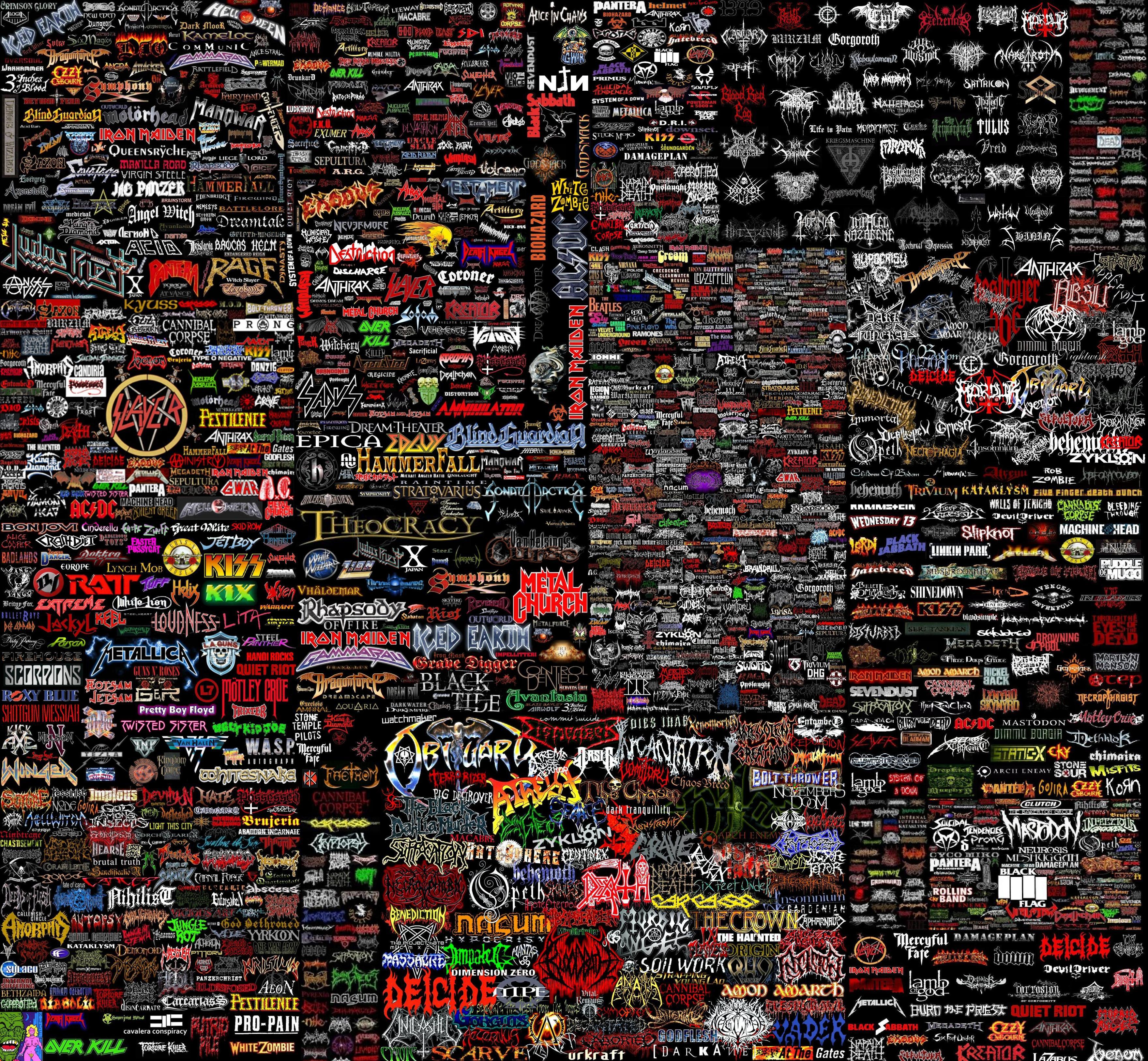 73 Metal Band Wallpapers On Wallpapersafari