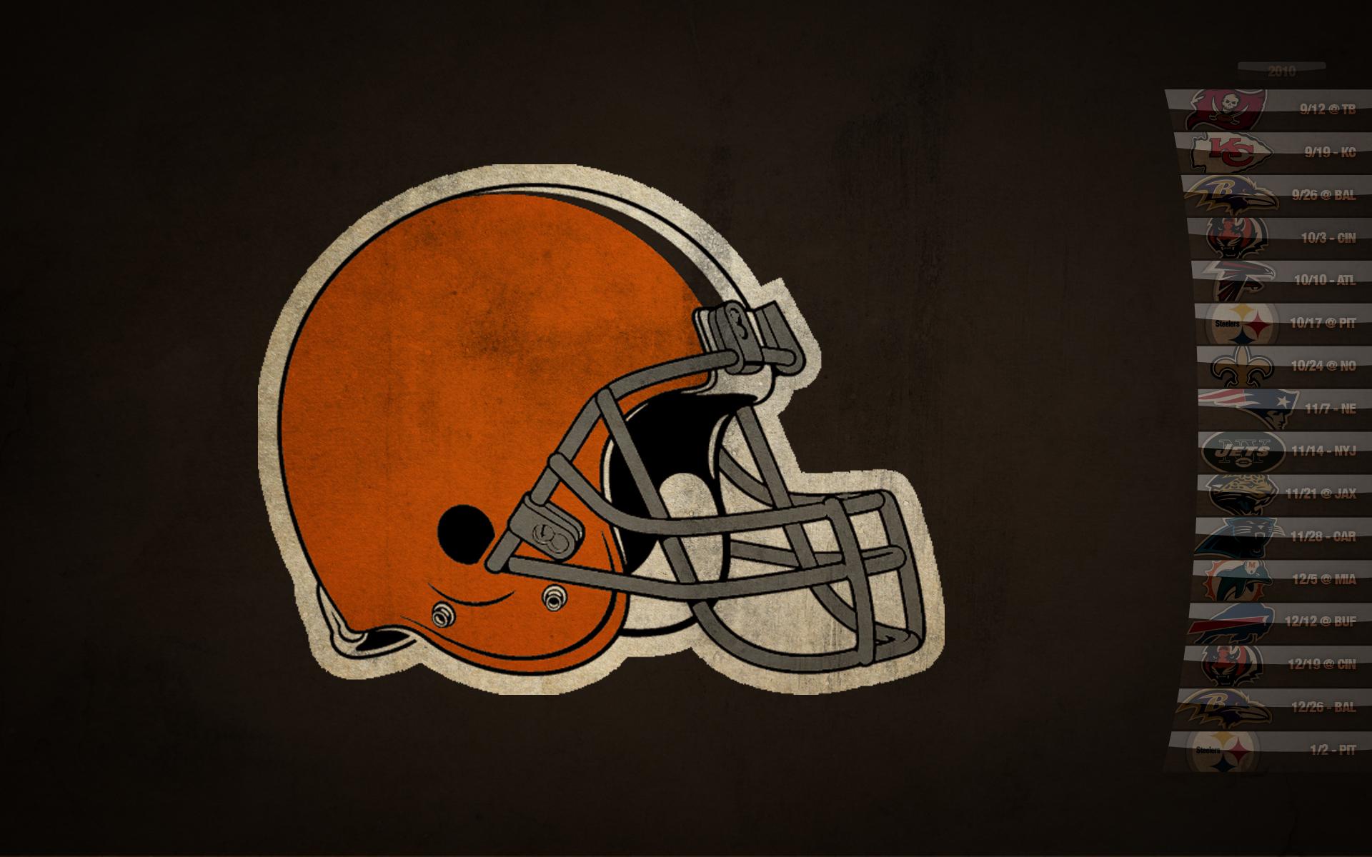 New Cleveland Browns Logo Wallpaper - WallpaperSafari