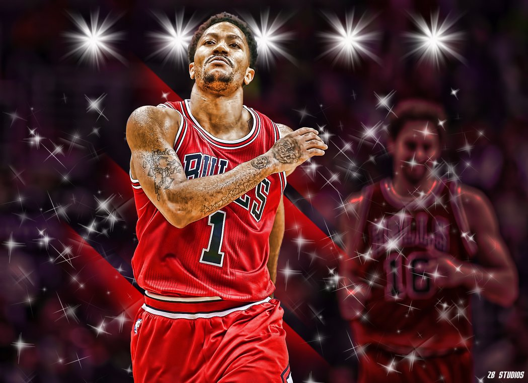 derrick rose 2015 wallpaper by realzbstudios customization wallpaper 1049x761