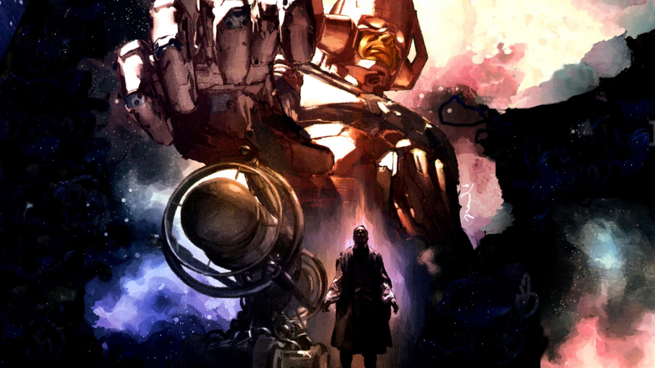 marvel comics galactus ozGO 2560x1440