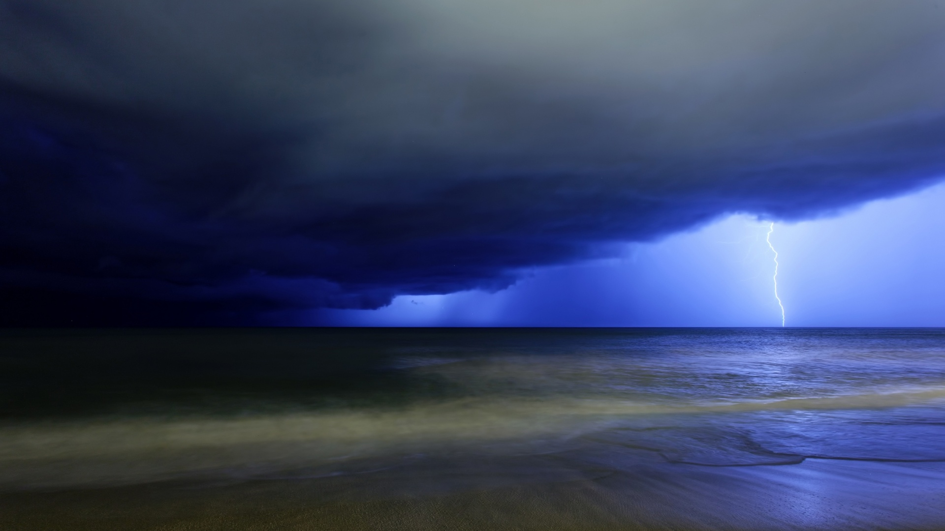 1920x1080 Night Storm desktop PC and Mac wallpaper 1920x1080