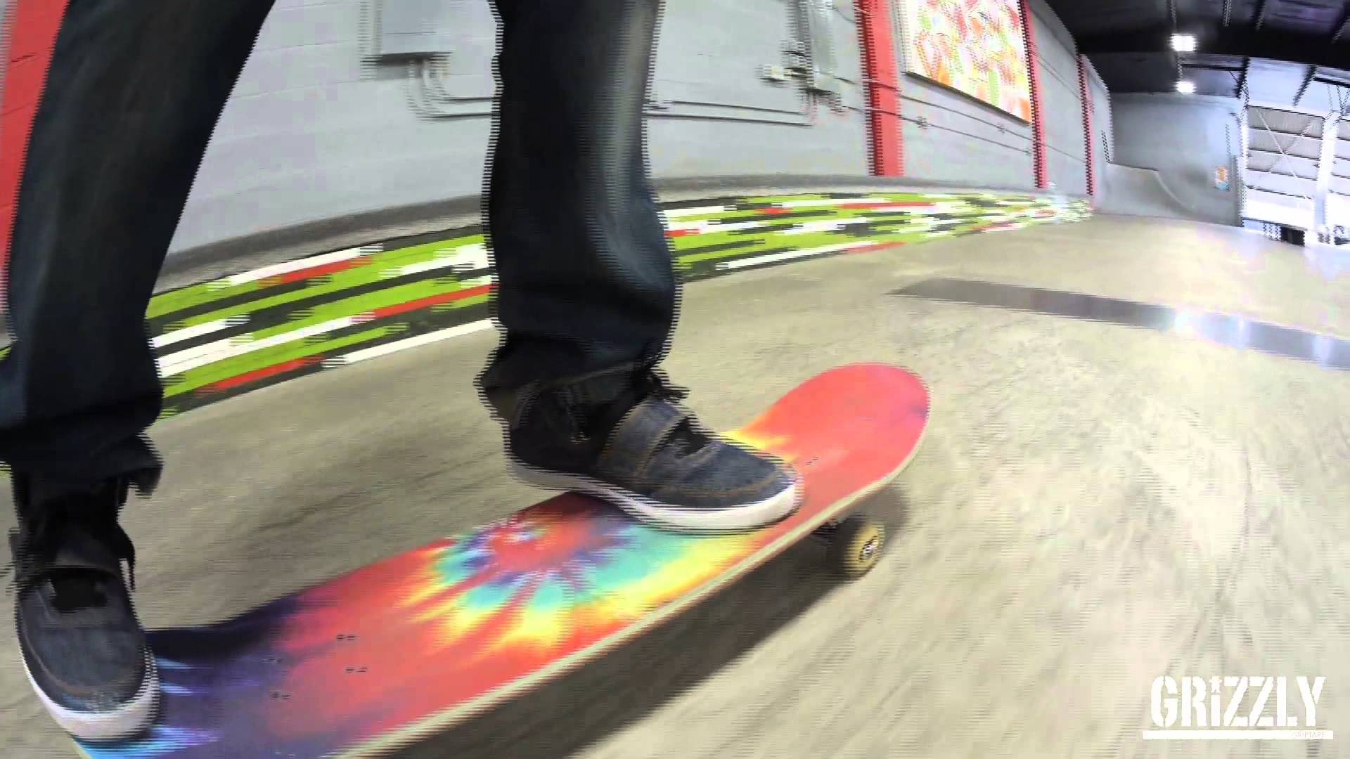 Grizzly grip tape quottie dyequot Commercial with Torey Pudwill 1920x1080