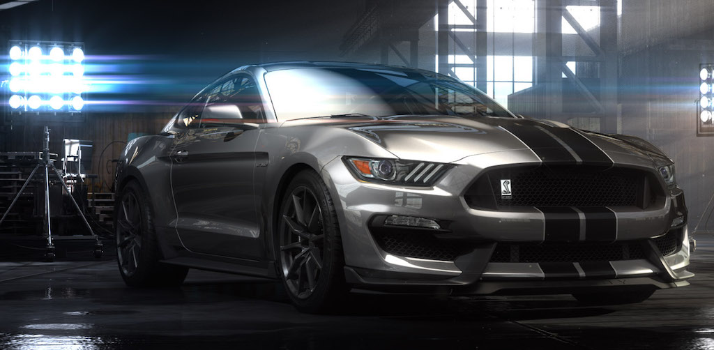 2016 Ford Mustang Shelby GT350 Wallpaper Full HD 2016 Car 1024x502