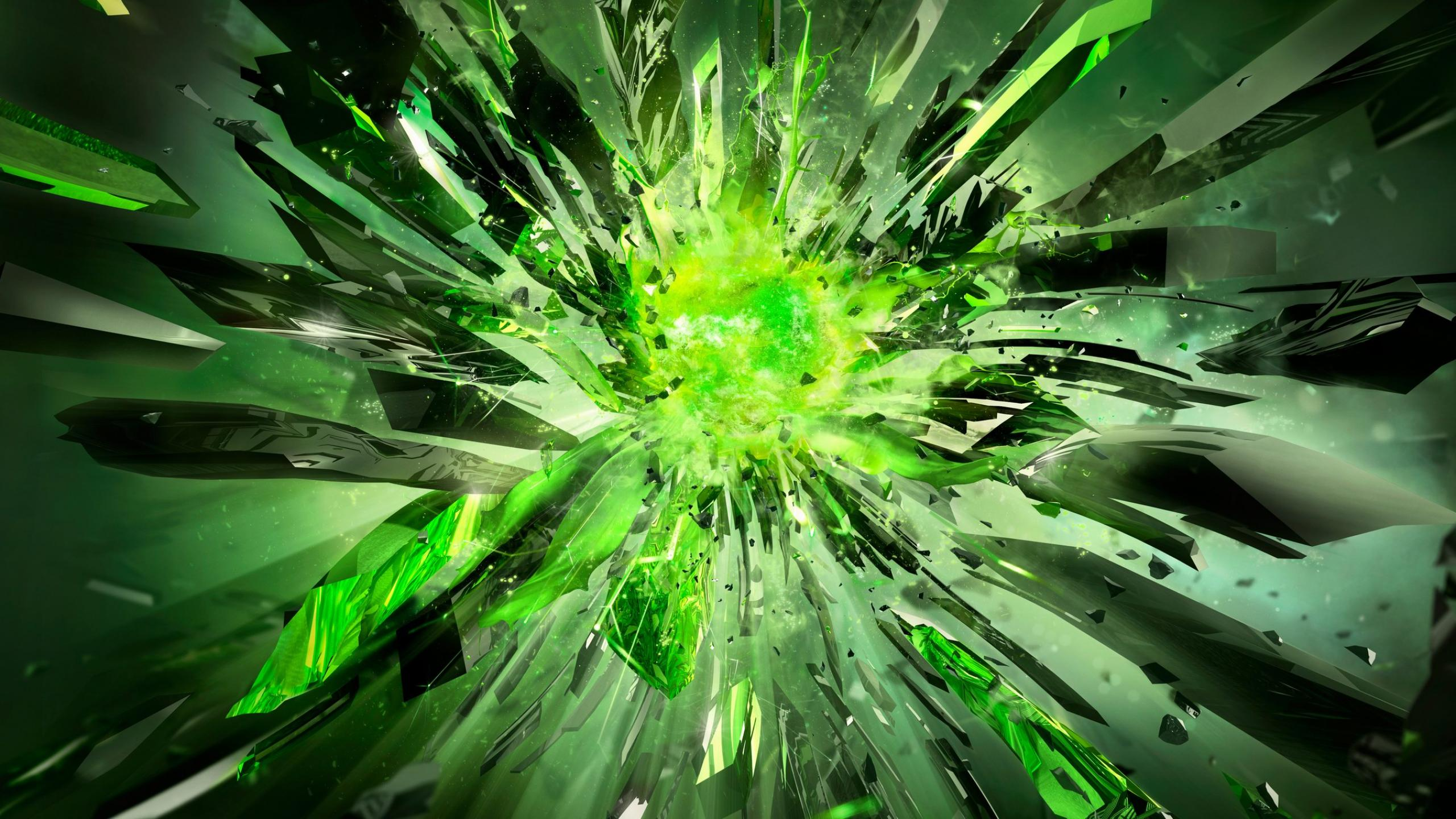 Crystals broken power green nvidia 1440x2560jpg 2560x1440