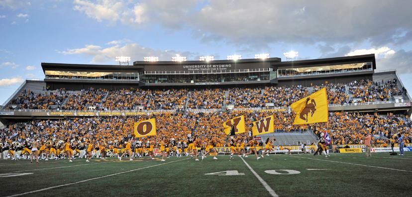 University of Wyoming Stadium Sampson Construction General 828x396