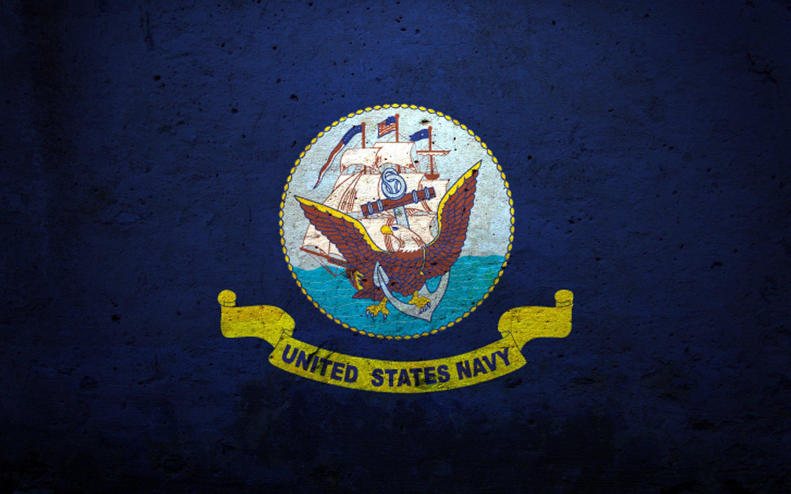 Official Us Navy Logo Wallpaper Us navy wallpaper 2560x1600