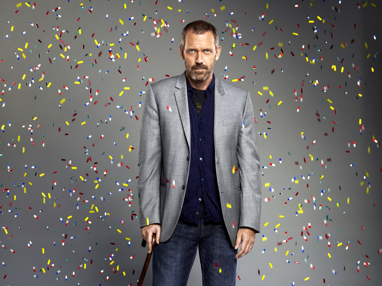 Download Wallpaper hugh laurie dr house md gregory tablet 1600x1200