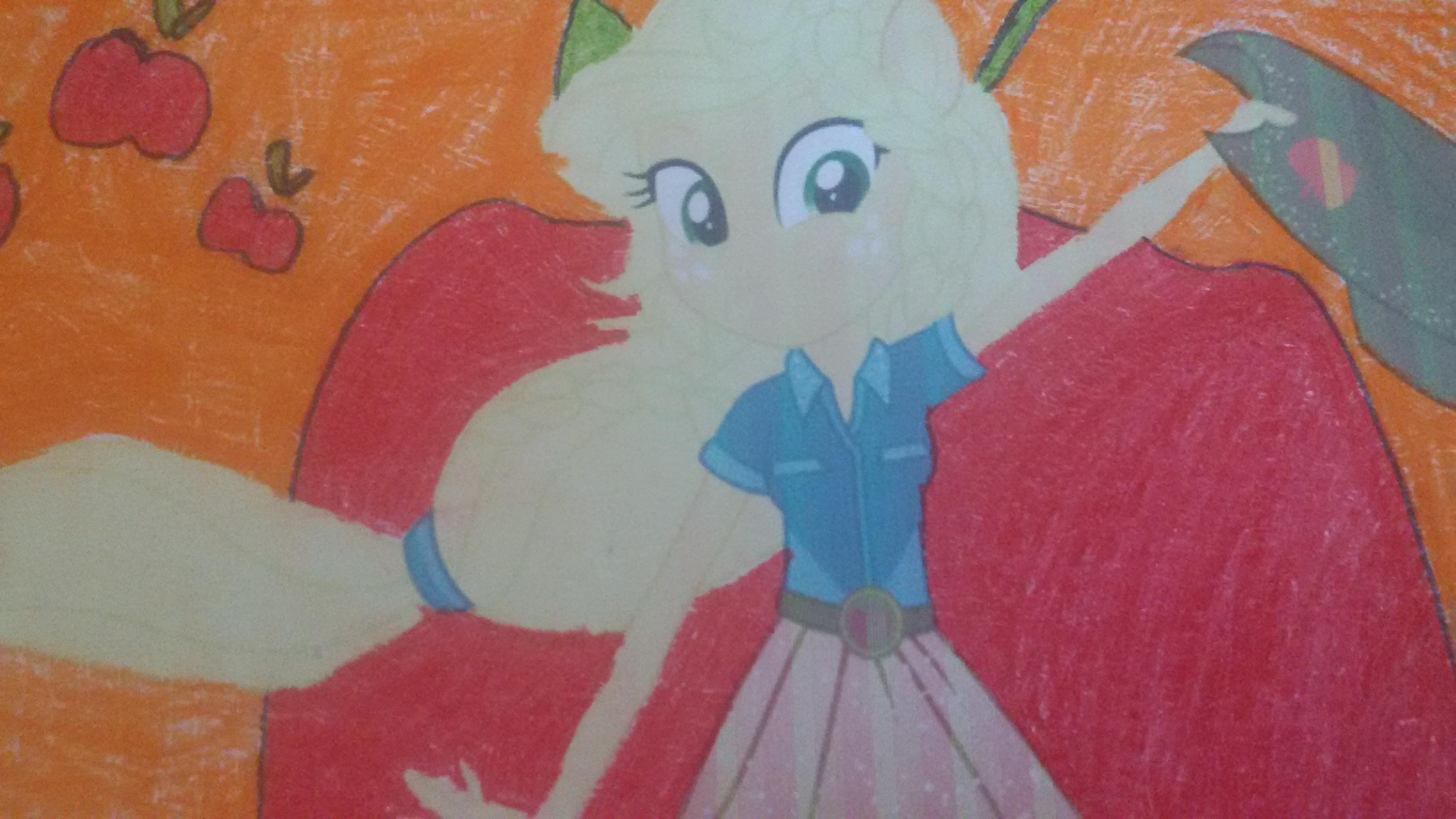Applejack Equestria Girl images 1536303954607160090808 HD 3264x1836