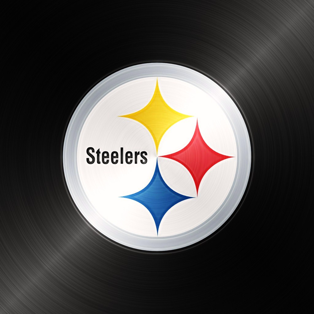 pittsburgh steelers black ipad 1024emsteeljpg phone wallpaper by 1024x1024