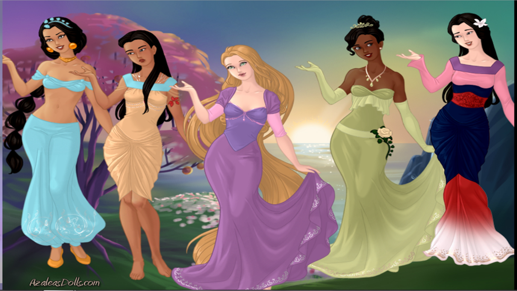 Disney Princess Modern by Soragirl6 1024x577